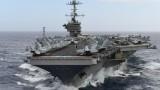"""Сигурността ни е гарантирана само в НАТО, заяви Борисов на борда на """"Хари Труман"""""""