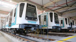 Пристигнаха 13 влака за третата линия на метрото