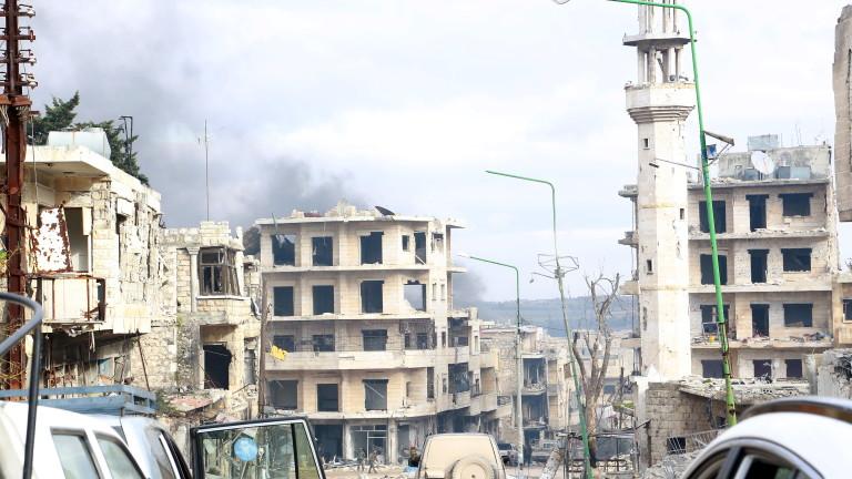 Първи бомбардировки на Русия в Сирия от 3 месеца