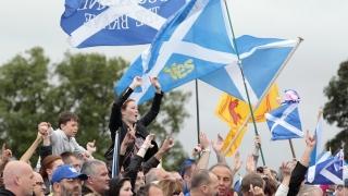 Рекордна подкрепа за независимост на Шотландия