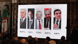 Бивш премиер печели президентските избори в Алжир