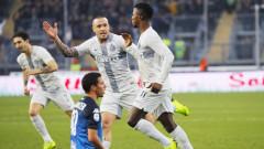 Интер спечели гостуването си на Емполи с 1:0