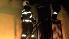 Потушиха пожар в столичен хостел