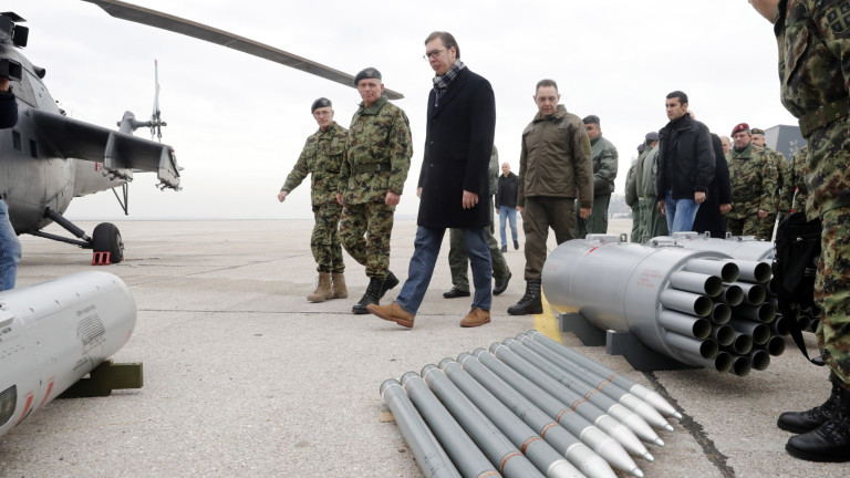 Сърбия провежда военни учения и модернизира армията за възпиране на всеки агресор