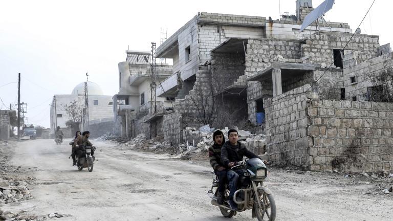 Сирийските сили за противовъздушна отбрана са отвърнали на нападение от