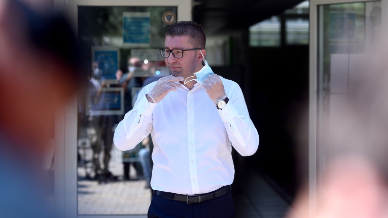 Мицкоски: Горко на Македония с тандема Заев-Бучковски