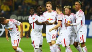 Лайпциг съкруши Борусия (Дортмунд) в мач с пет гола, две дузпи и два червени картона (ВИДЕО)