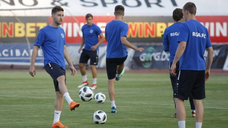 Нападателят на ФК Рига Иван Енин обяви, че неговият тим