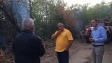 Премиерът гаси пожар край Хасково