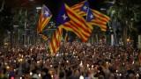 200 000 каталунци защитиха лидерите си в Барселона