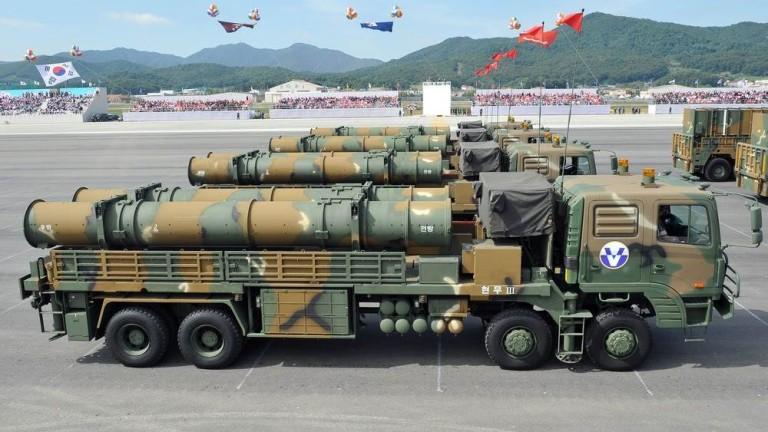 Оръжията на Южна Корея по нищо не отстъпват на тези на северната й съседка