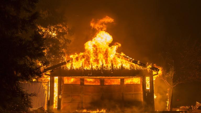 Горските пожари в Северна Калифорния са били най-скъпо струващото природно