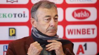 Марков: Акциите ще струват 76 хиляди лева, чашата преля след писмото на част от феновете