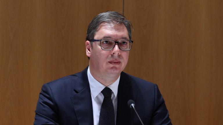 Вучич: Признаването на Косово е въпрос на време