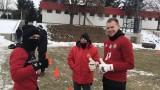 В ЦСКА започнаха годината с много усмивки