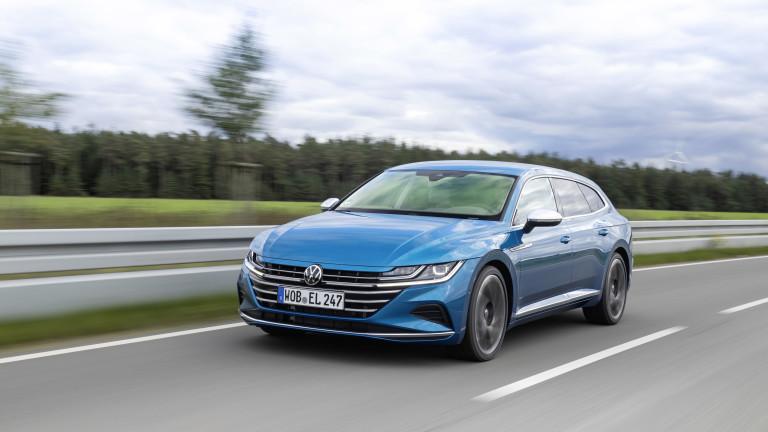 VW Arteon Shooting Brake променя представите за комби