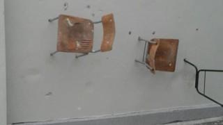 Вандали опустошиха математическата гимназия в Добрич