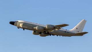 Военен самолет на САЩ разузнава край Калининград