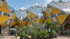 Кубичните къщи в Ротердам - живот сред ъгли