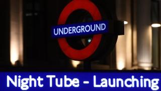 Лондонското метро с нощни линии