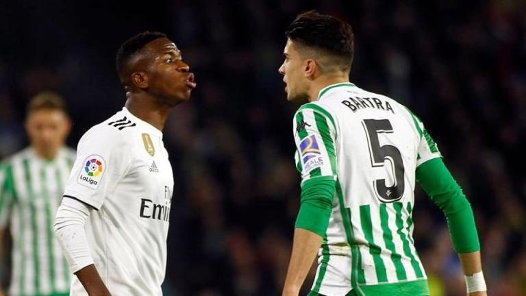 Нападателят на Реал (Мадрид) Винисиус е обидил защитника на Бетис