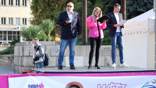 Министър Кралев: Доволен съм от това, което виждаме като организация и интерес към маратона
