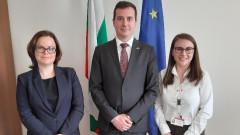 Зам.-министър Павлов проведе работна среща с Българския младежки червен кръст