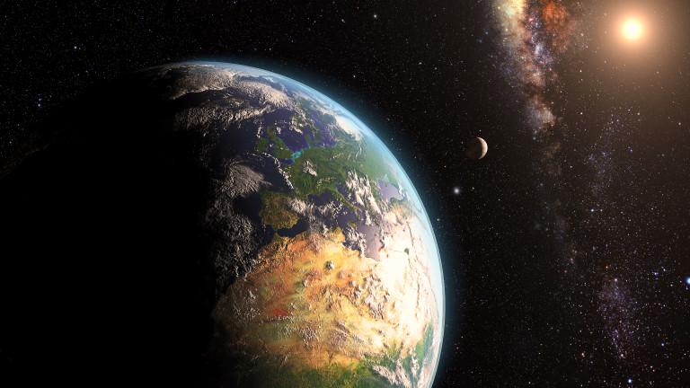Снимка: Откъде идват мистериозните космически сигнали