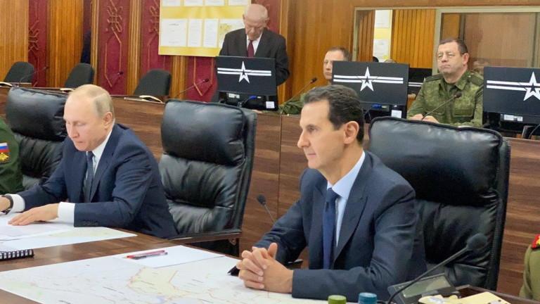 Сирийският външен министър изрази