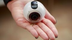 Новата камера The Gear 360 на Samsung записва всичко