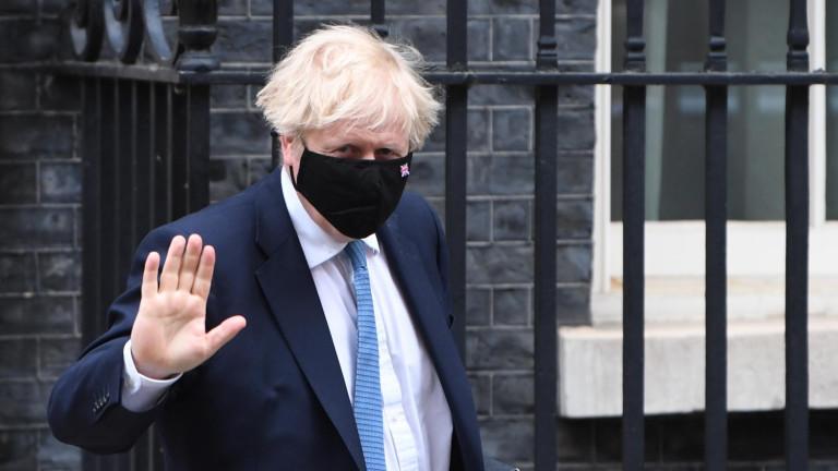 Британският министър-председател Борис Джонсън заяви в четвъртък, че е