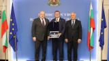 Министър Кралев се срещна с президента на Европейската федерация по волейбол