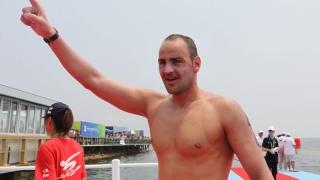 Български подвиг! Петър Стойчев световен шампион в ледени води