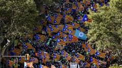 Стотици хиляди в Барселона настояват за независимост от Испания