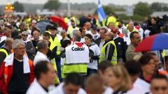 """Блокади във Франция заради мигрантския лагер """"Джунглата"""""""