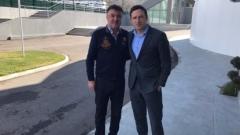 Боби Михайлов прие шеф от УЕФА