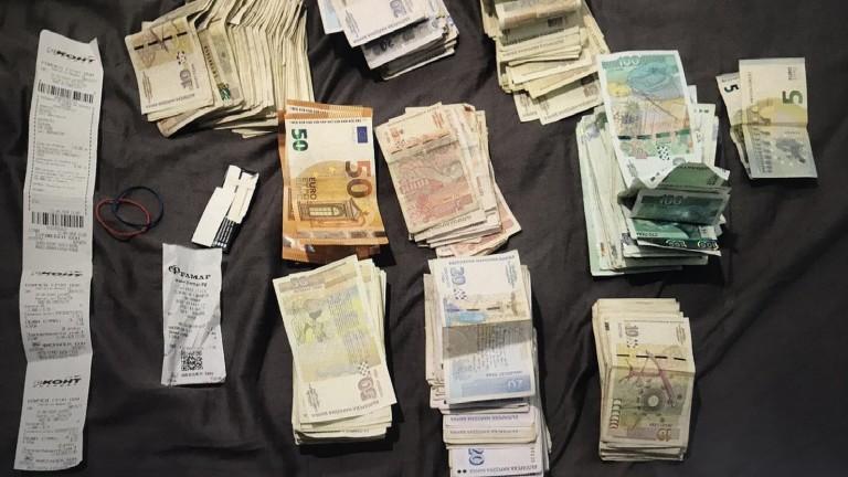 Полицаи иззеха 900 гр. марихуана и опандизиха трима рецидивисти по