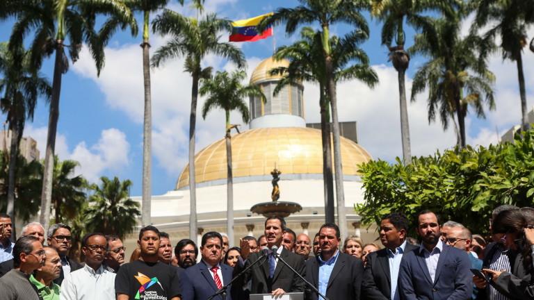 Председателят на парламента и лидер на опозицията във Венецуела Хуан
