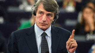 Социалистът Давид-Мария Сасоли печели първия вот за председател на Европарламента
