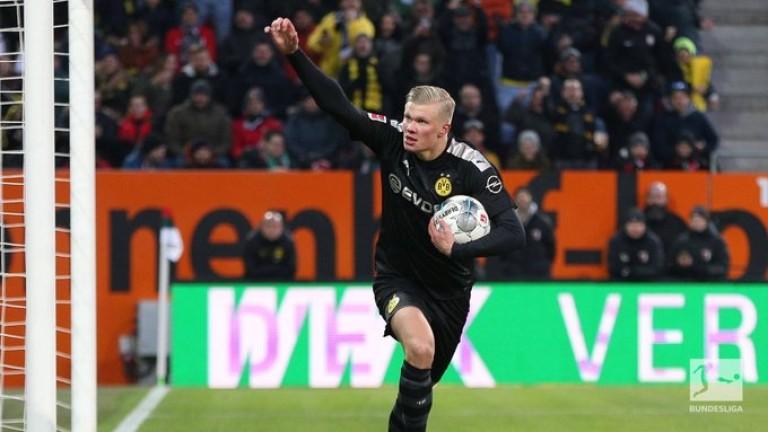 Новата звезда на Борусия (Дортмунд) Ерлинг Халанд говори след невероятния