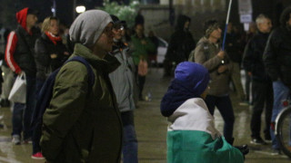 107-а протестна вечер приключи без инциденти