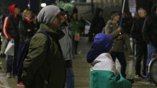 Протестиращи блокираха кръстовища в София
