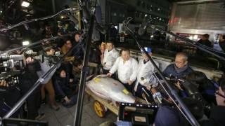 В Токио продадоха риба тон за $323 400