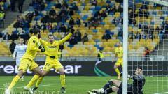 Виляреал със сериозна заявка за 1/4-финалите в Лига Европа след чиста победа в Киев