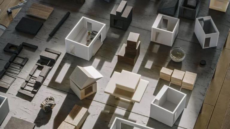 Макетни модели на бъдещите къщички на Airbnb