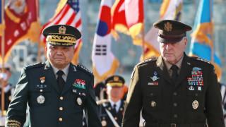 Пентагонът защитава Южна Корея без колебание и с всичко налично