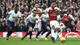 Арсенал победи Тотнъм с 4:2