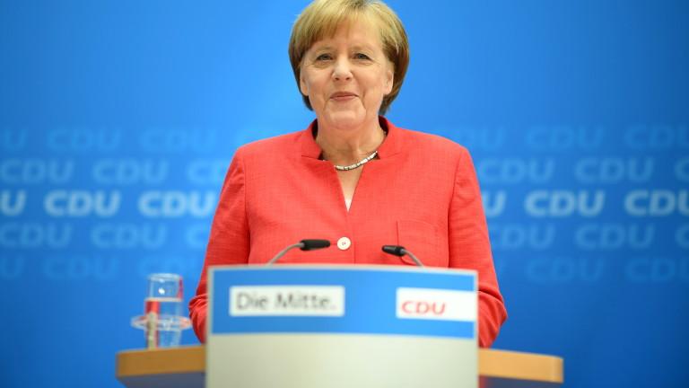 Германският канцлер Ангела Меркел прие предложението на баварския си коалиционен