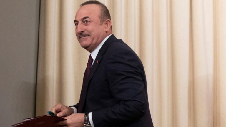 Турският външен министър Мевлют Чавушоглу заяви в четвъртък, че руската