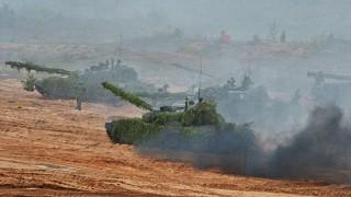 Сезонът на военните игри на Русия обединява уморени от Запада съюзници
